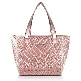 Bolsa Shopper Transparente jacki Design Feminina
