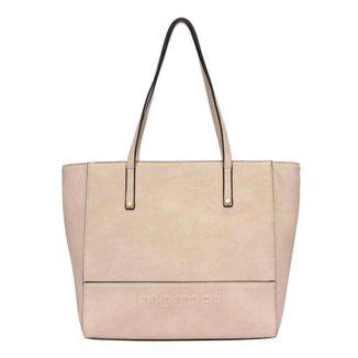 Bolsa shopping bag alto relevo Mormaii