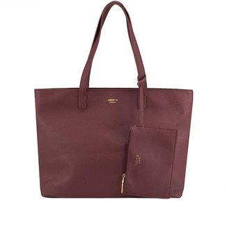 Bolsa Shopping Bag Gabriela Essenciais com Niqueleira Feminina