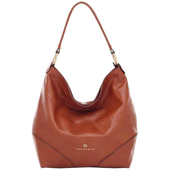 Bolsa Smart Bag Couro Parafinado - Caramelo