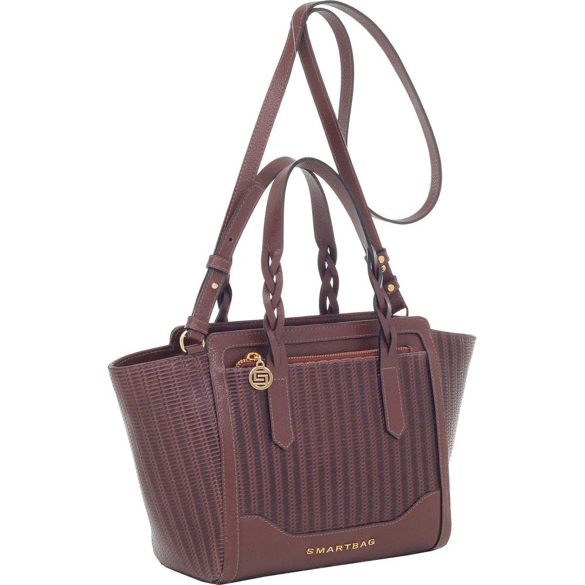 Bolsa Smart Bag Vaqueta Alça Mão - Compre Agora  fe43528b1c3