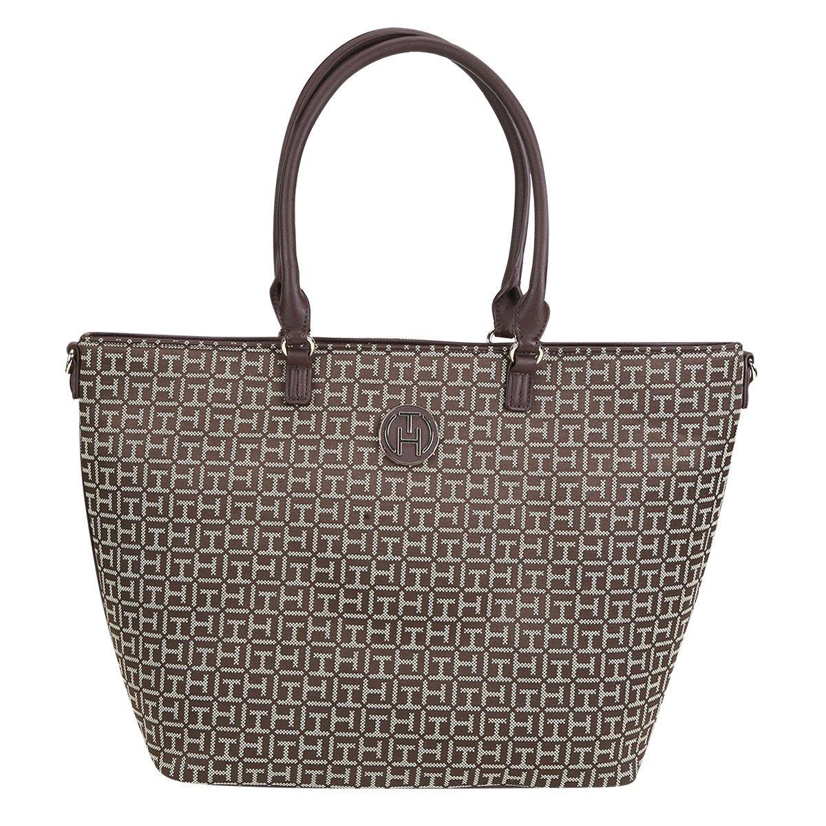 a855730084a31 Bolsa Tommy Hilfiger Tote Jacquard Feminina - Compre Agora
