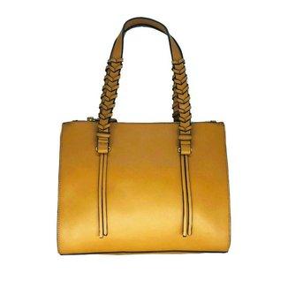 Bolsa Tote Shopper Feminina Zíper Alça Fixa Casual Dia a Dia
