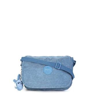 Bolsa Up4You Flap Alça Transversal Com Charm Bag Feminina