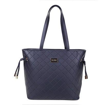 Bolsa Via Uno Eco Shopper Matelassê Feminina - Feminino