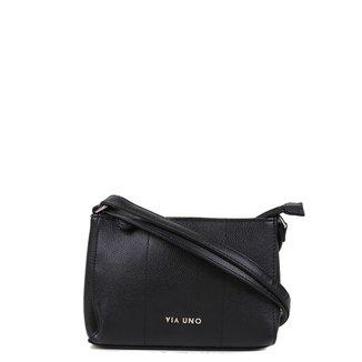 Bolsa Via Uno Mini Bag Eco Verniz Feminina
