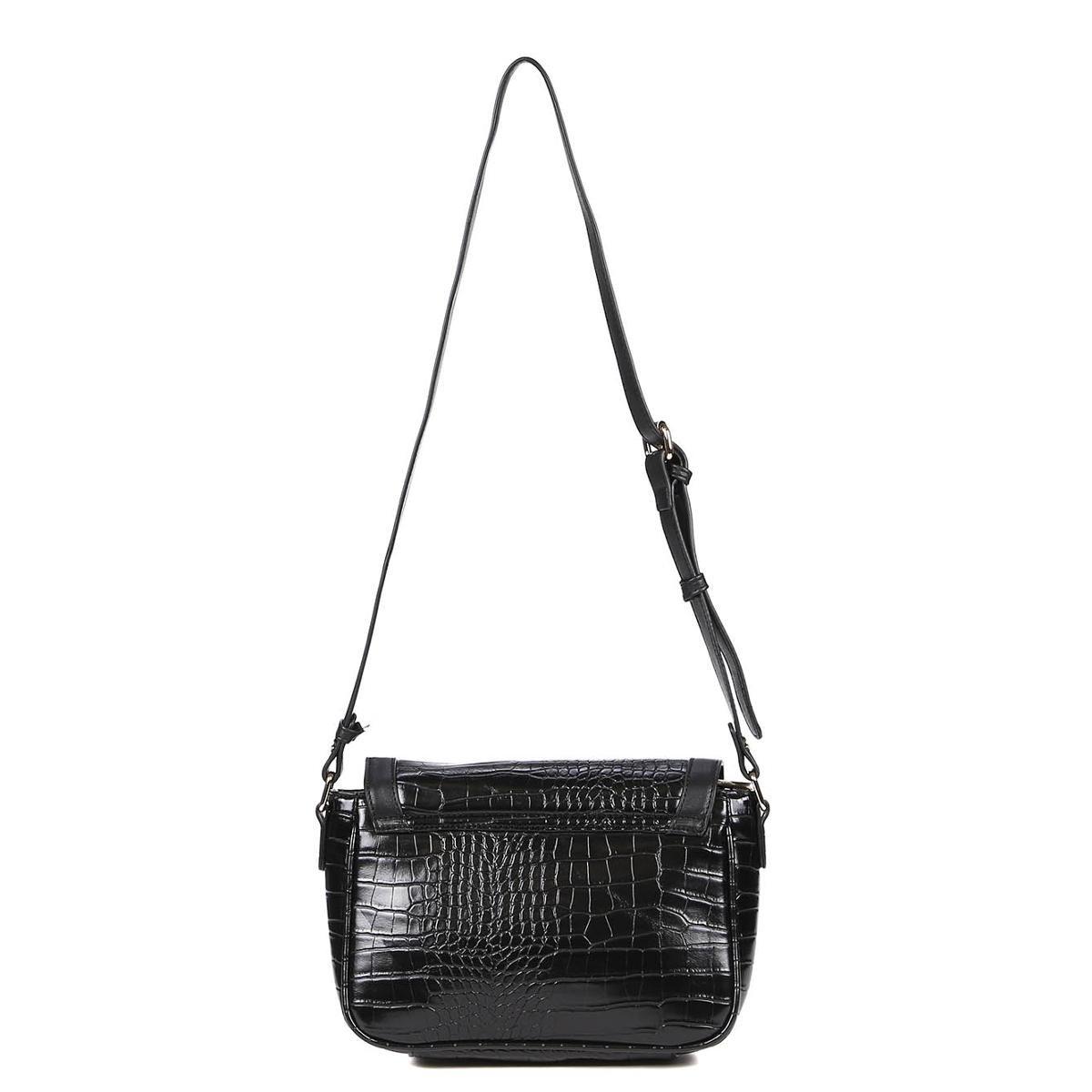 Bolsa Vogue Feminina - Preto - Compre Agora   Zattini 1938fc38ba