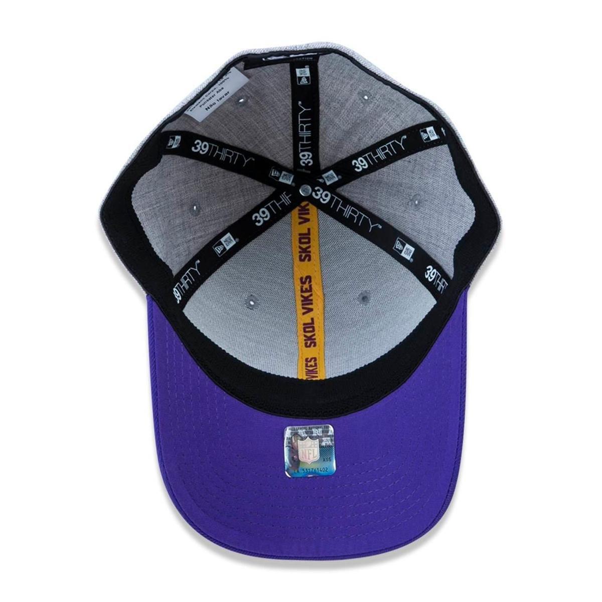 Boné 3930 Minnesota Vikings NFL Aba Curva New Era - Compre Agora ... 2f713f814f6