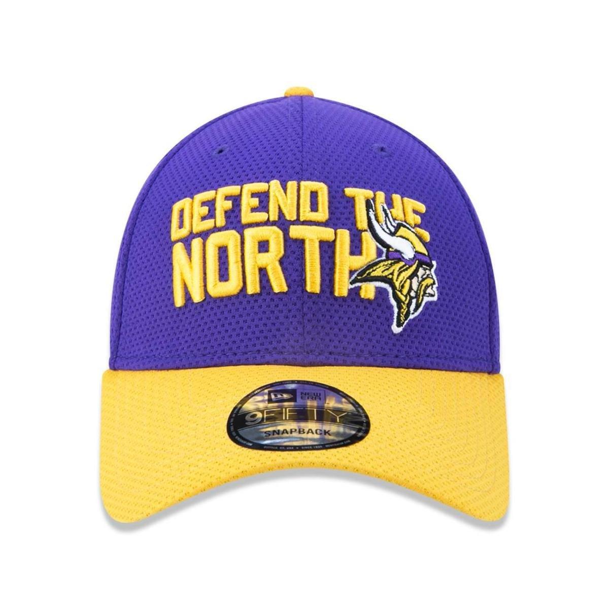 Boné 3930 Minnesota Vikings NFL Aba Curva New Era - Roxo - Compre ... 2d6ad2a39c3