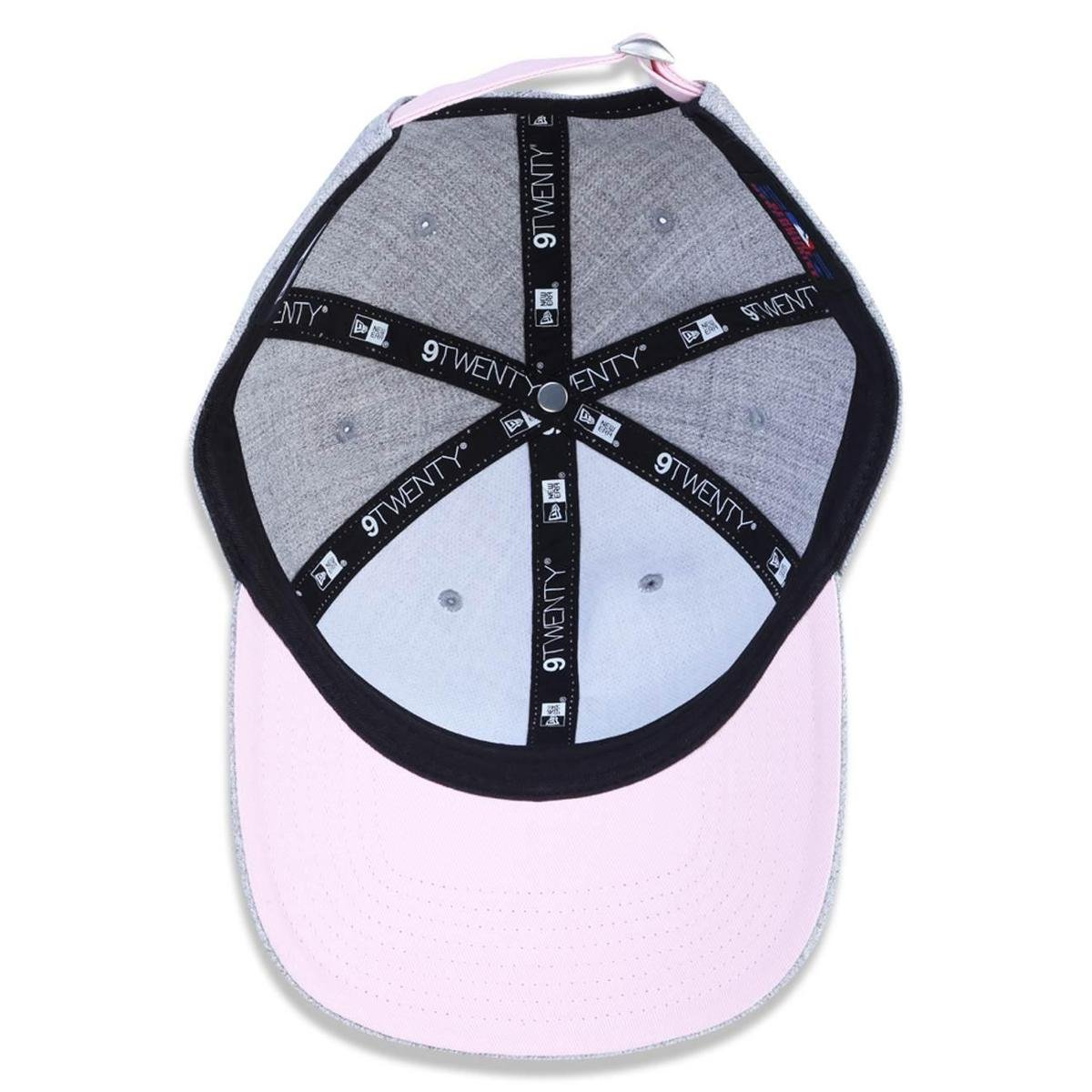 Bone 920 Los Angeles Dodgers MLB New Era - Cinza e Pink - Compre ... ffe81ea1aba