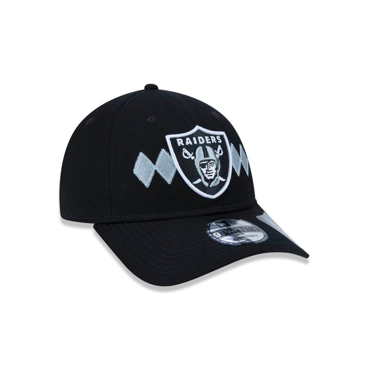 Boné 920 Oakland Raiders NFL Aba Curva New Era - Preto - Compre ... 08e1110db0f