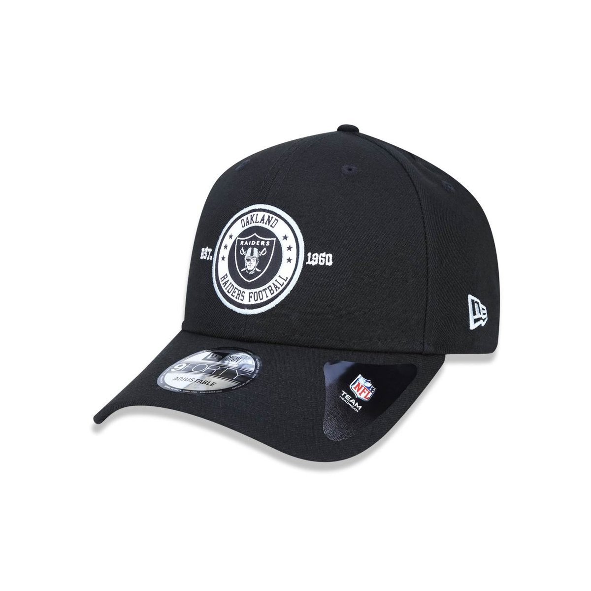 Boné 940 Oakland Raiders NFL Aba Curva Snapback New Era - Compre ... de20aef1e89f3
