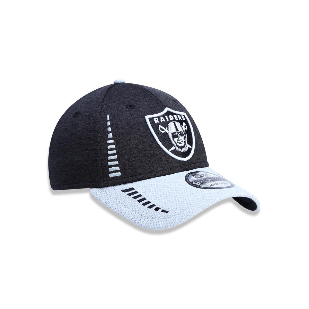 Boné 940 Oakland Raiders NFL Aba Curva Strapback New Era - Compre ... 5c7ed4dd5e8