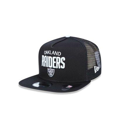 Boné 950 A-frame Oakland Raiders NFL Aba Reta Snapback New Era - Preto -  Compre Agora  a7a82dd1154