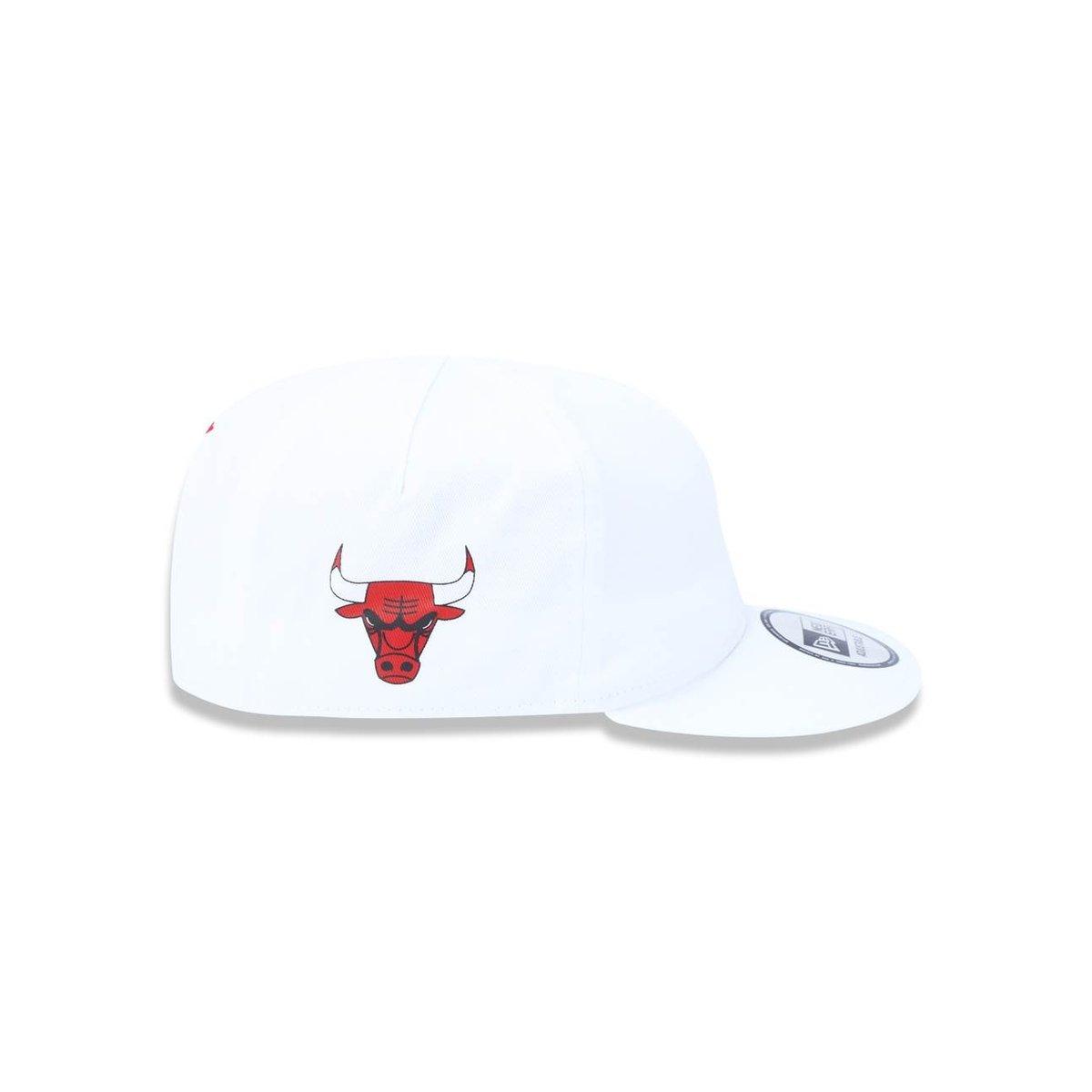c7e08be53804e Boné 950 Chicago Bulls NBA Aba Reta New Era - Branco - Compre Agora ...