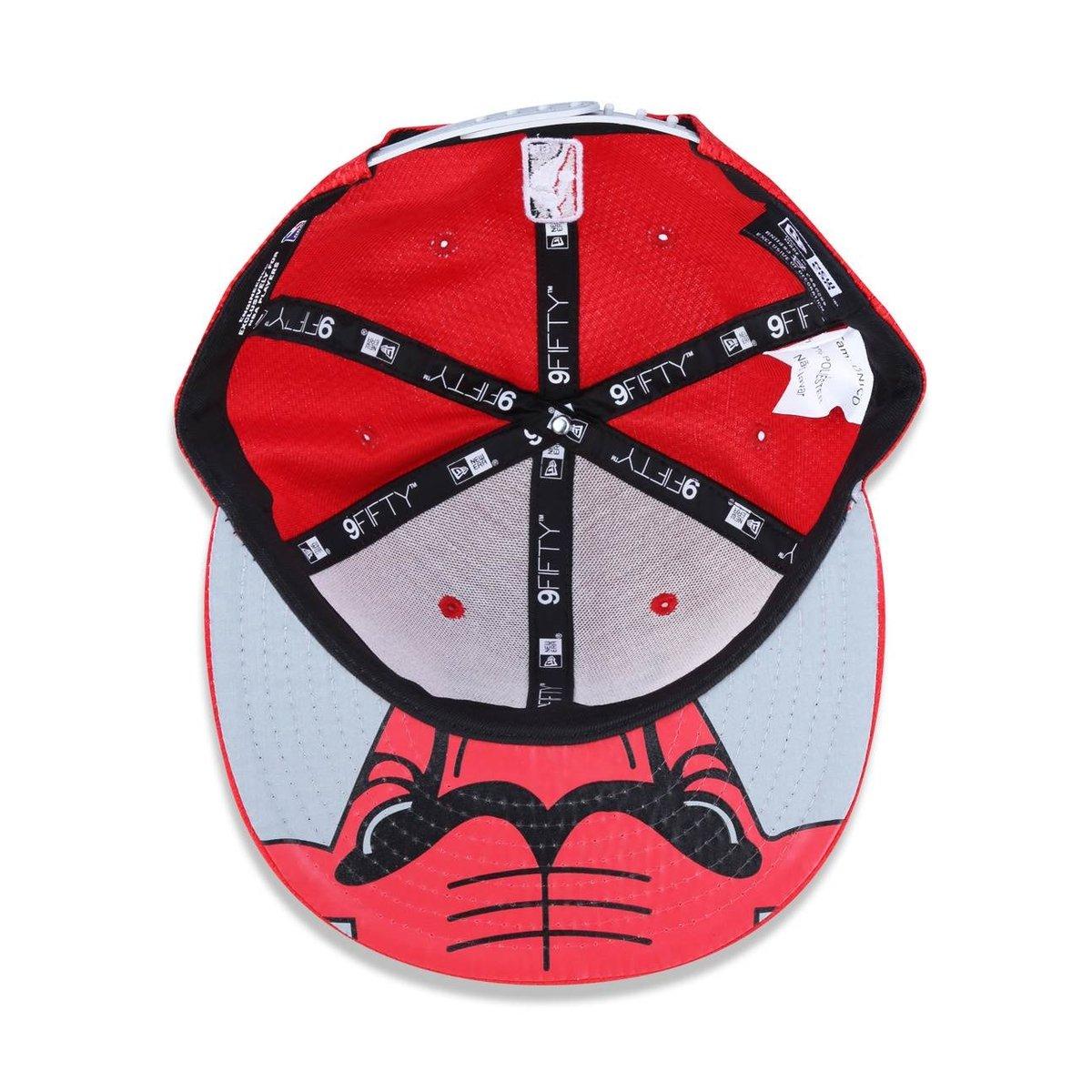 Bone 950 New Era Chicago Bulls NBA Aba Reta Snapback - Compre Agora ... a74b7ee4488