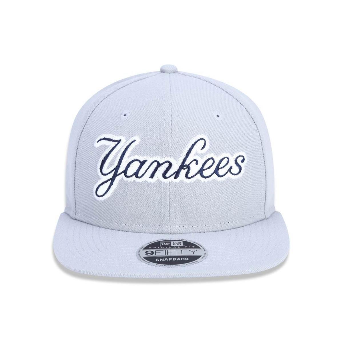 ... Boné 950 Original Fit New York Yankees MLB Aba Reta Snapback New Era ... dbc4947ad7b