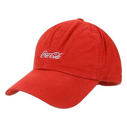 Boné Aba Curva Coca-Cola Masculino - Coca-Cola - Zattini BR 181b3a6c88c