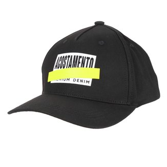 Boné Acostamento Aba Curva Sarja Logo