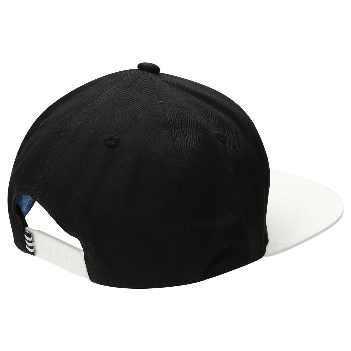 Boné Adidas Aba Reta Originals Snapback Fb B W - Compre Agora  e7f9becf745
