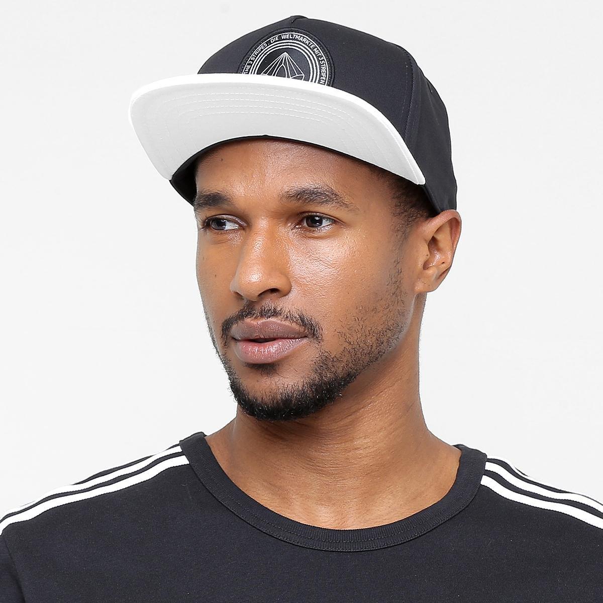 Boné Adidas Aba Reta Originals Snapback Fb B W - Compre Agora  120361636e6