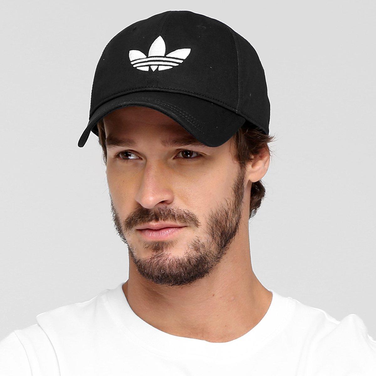 Boné Adidas Originals Trefoil - Compre Agora  332f9d56fec