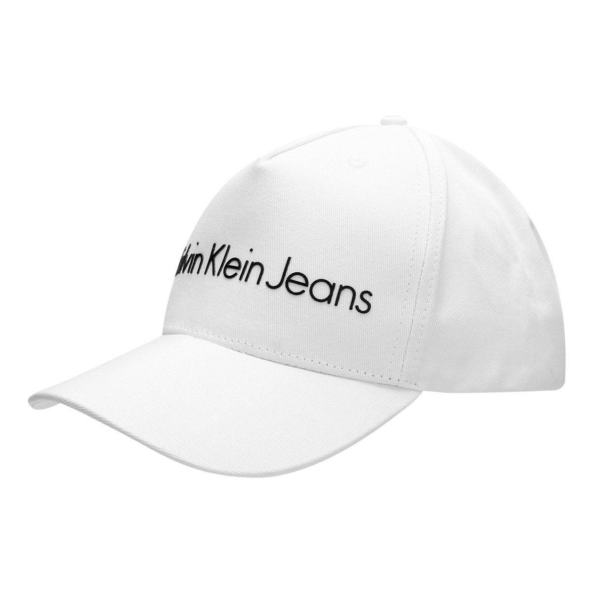 98de492444631 Boné Calvin Klein Aba Curva Logo Masculino - Compre Agora   Zattini