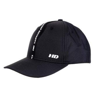 Boné HD Aba Curva Snapback Faixa Logo