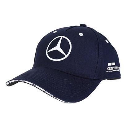 Boné Mercedes-Benz Aba Curva F1 Inglaterra 2018 L. Hamilton Edição Especial