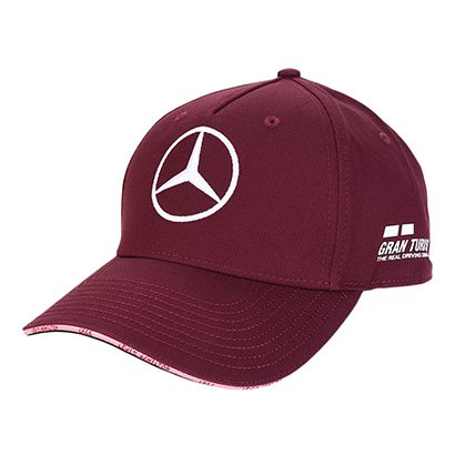Boné Mercedes-Benz Aba Curva F1 Singapura 2018 L. Hamilton Edição Especial