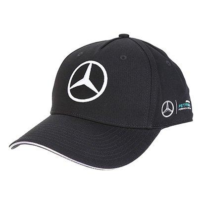 Boné Mercedes-Benz Aba Curva Oficial Equipe F1 2017 Strapback