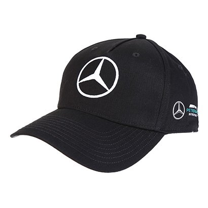Boné Mercedes-Benz Aba Curva Oficial Equipe F1 2018 Strapback