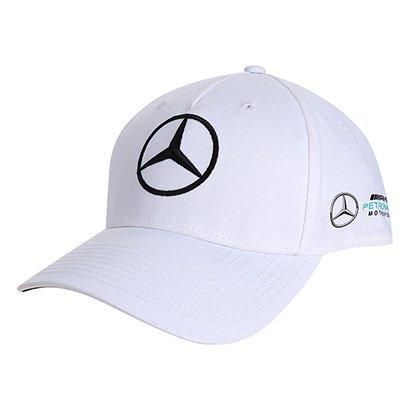 Boné Mercedes-Benz Aba Curva Oficial F1 2018 Piloto V. Bottas