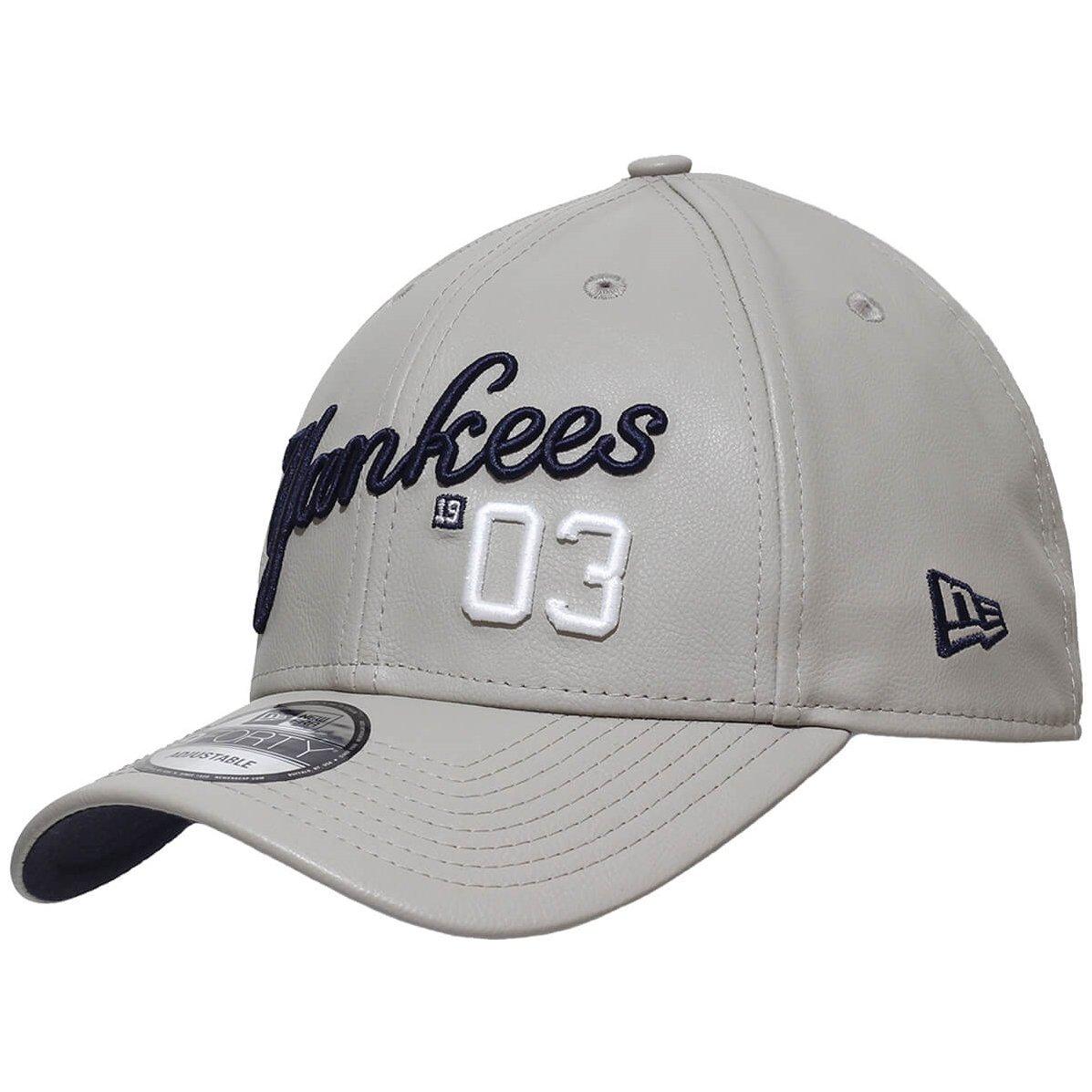 Boné New Era Aba Curva Snapback Mlb Ny Yankees Lea - Bege - Compre ... 03c945195db