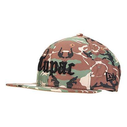 Boné New Era Aba Reta 950 Of Tupac Tipo Camo