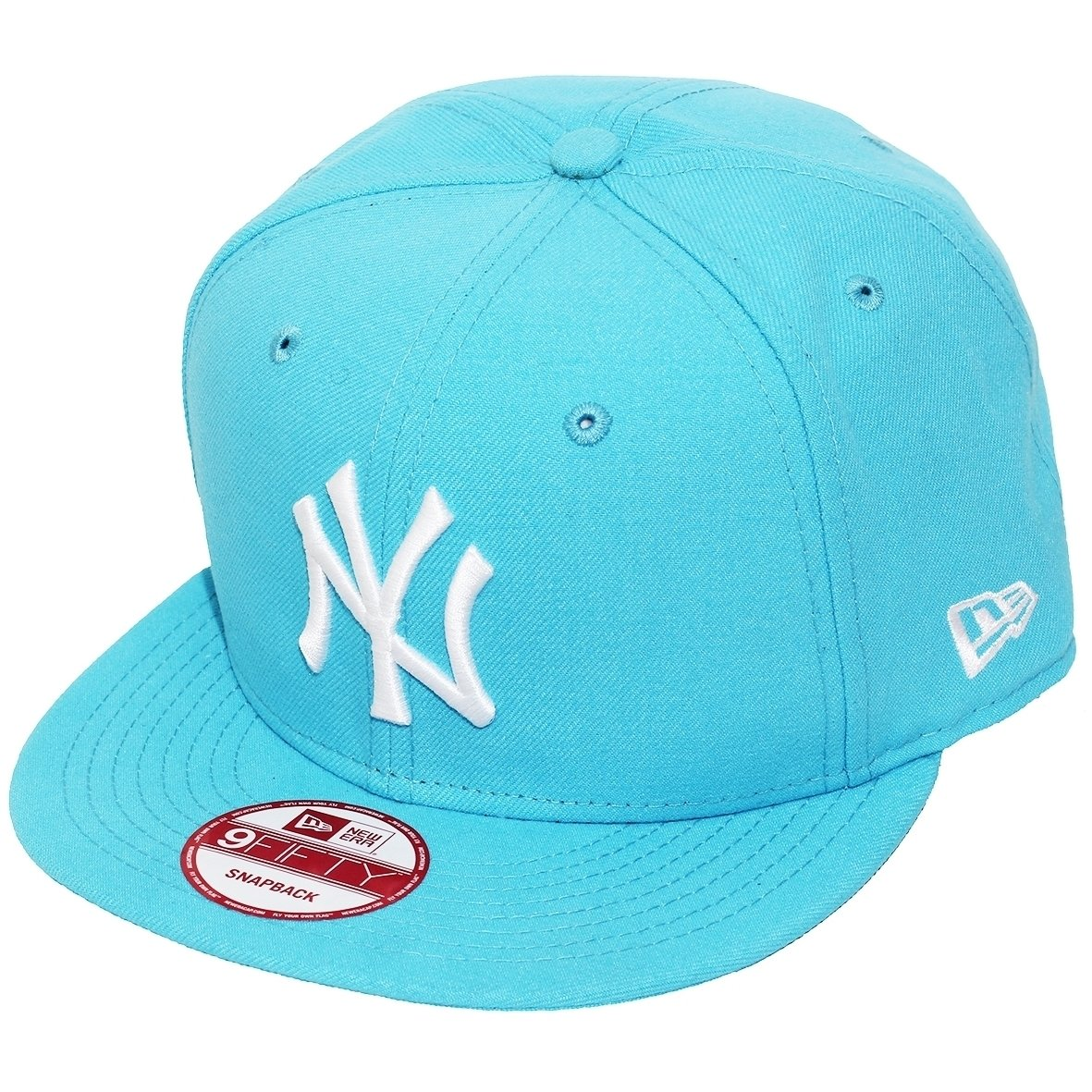e64b6ea29b Boné New Era Aba Reta Snapback Mlb Ny Yankees Basi - Compre Agora ...