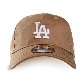 Boné New Era Los Angeles Beisebol Bege - Masculino UNICO