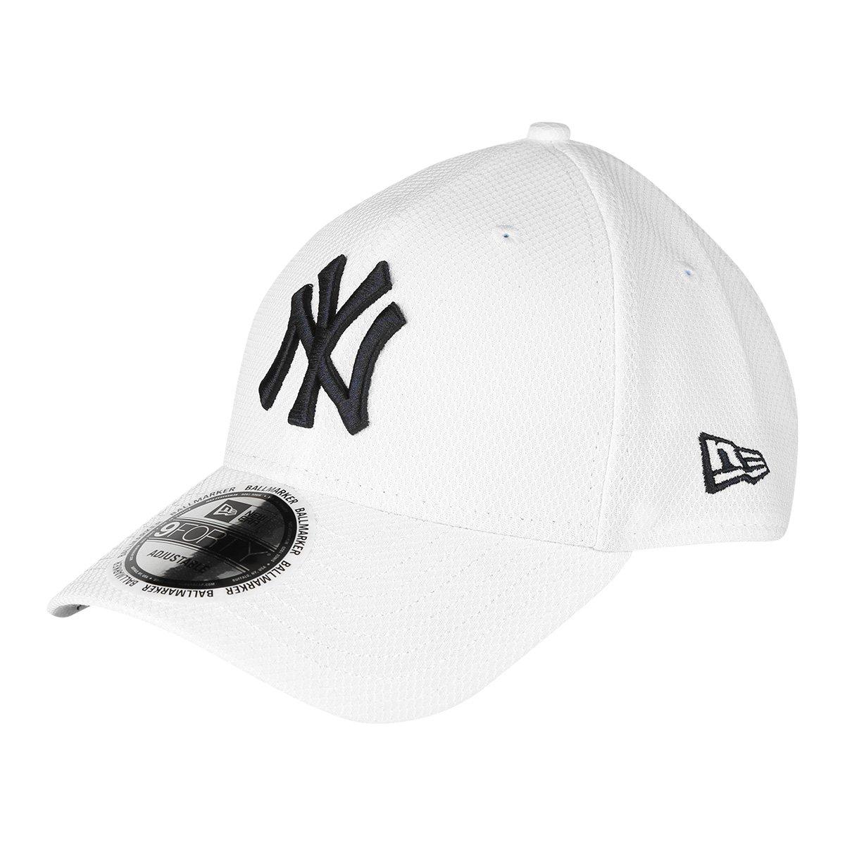 Boné New Era MBL New York Yankees Aba Curva 940 Fan Function - Compre Agora   11c038742d9