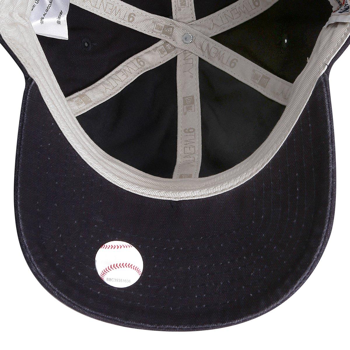 Boné New Era MLB Brooklyn Dodgers Aba Curva 920 - Marinho - Compre ... d3b2ca82608