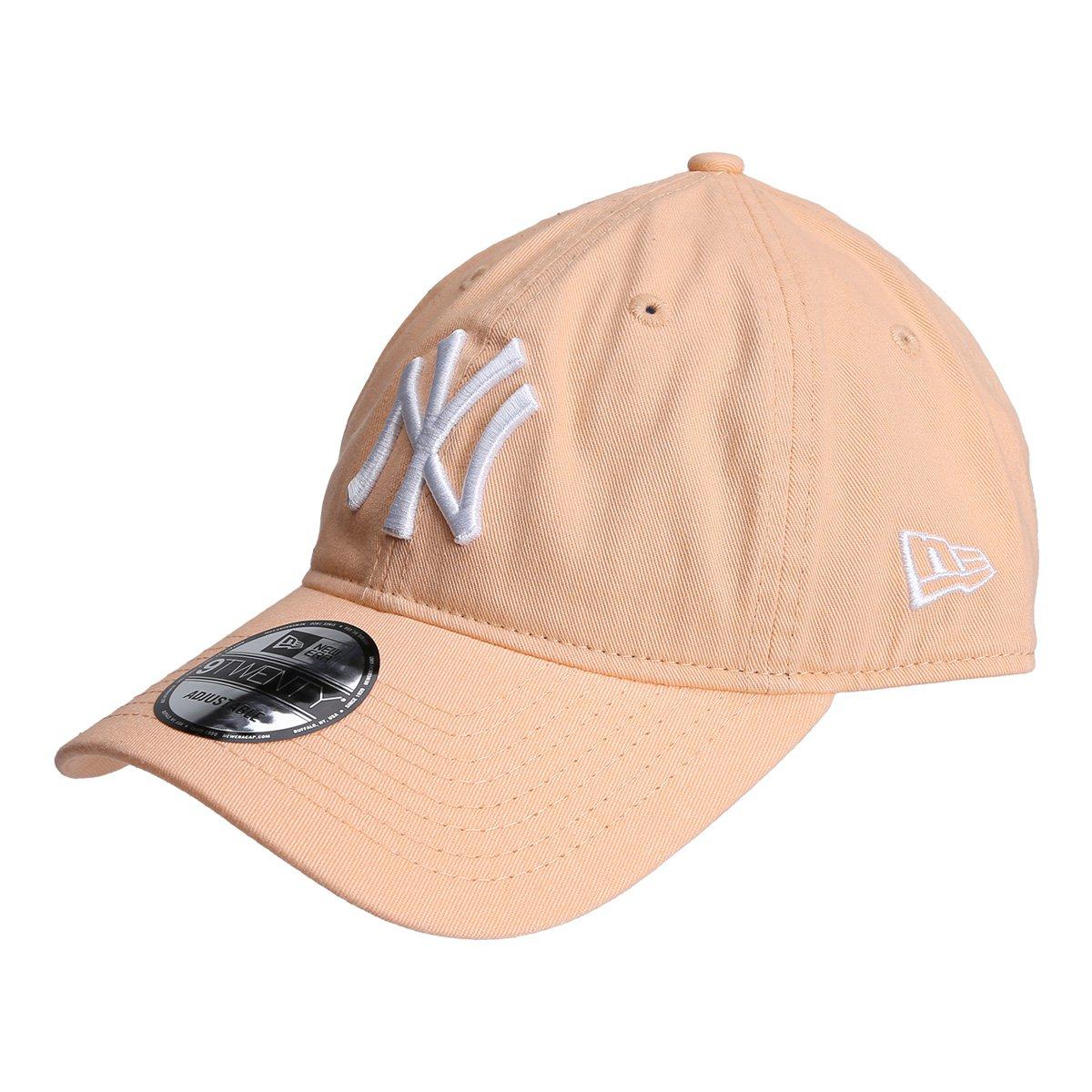 0b5d08759acc8 Boné New Era MLB New York Yankees Aba Curva 920 St Pastels - Compre ...