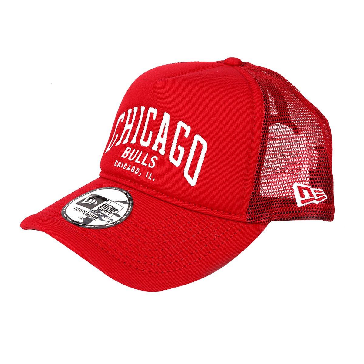 Boné New Era NBA Chicago Bulls Aba Curva 940 Af SN Lic2146 Fa17 Scawh ... 571542437ec