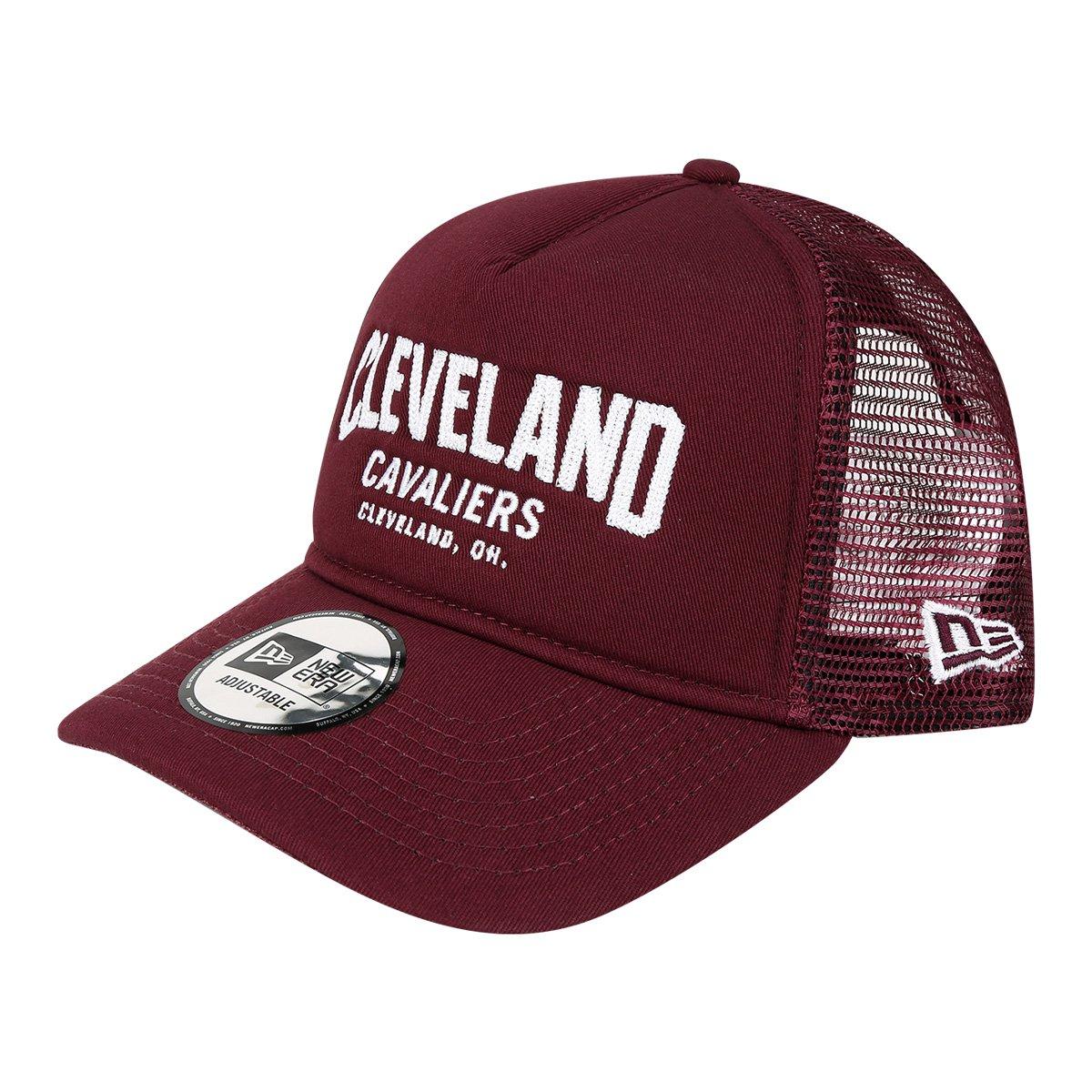 Boné New Era NBA Cleveland Cavaliers Aba Curva 940 Af SN Lic2146 Fa17 Mrnwh  - Compre Agora  0d869f983e7