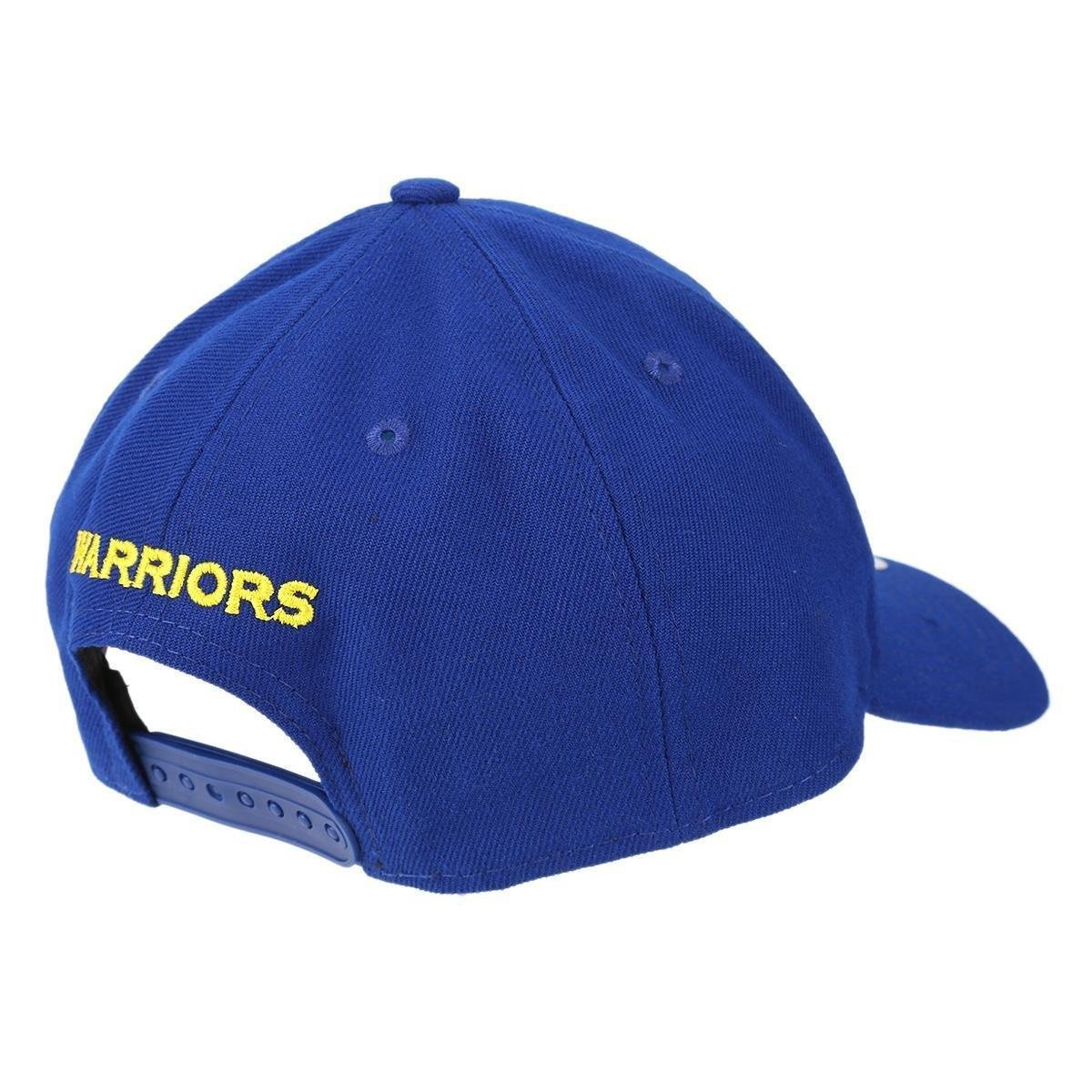 Boné New Era NBA Golden State Warriors Aba Curva Primary - Azul ... f6e01c7b4d9