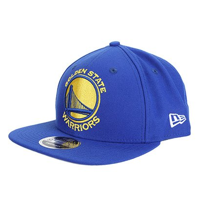 118f40f8192ca Boné New Era NBA Golden State Warriors Aba Reta Primary - Unissex
