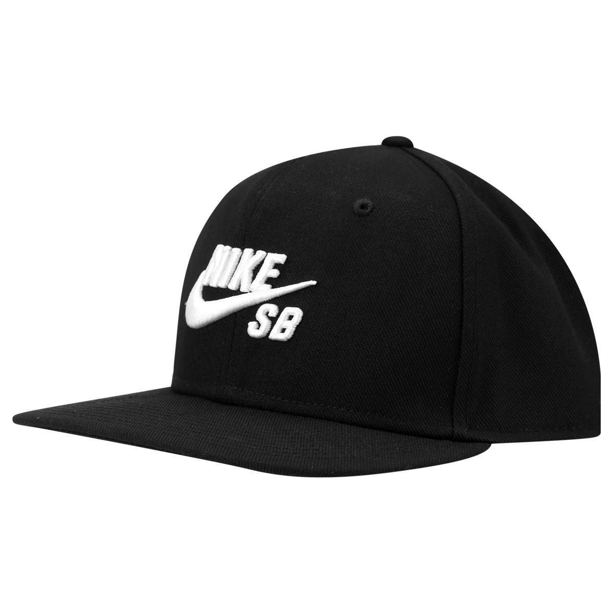 Boné Nike Aba Reta SB Icon - Preto - Compre Agora  f8c50886999