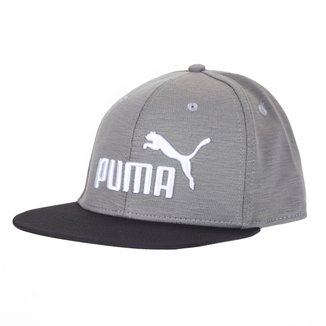 Boné Puma Flatbrim Aba Curva Snapback
