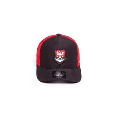 Boné Starter Aba Curva Snapback Collab Flamengo Masculino