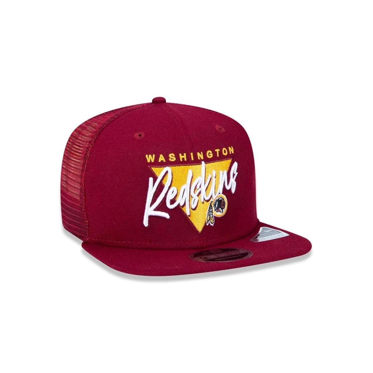 Boné Trucker Washington Redskins NFL Aba Reta New Era - Compre Agora ... f9aa9364cb3