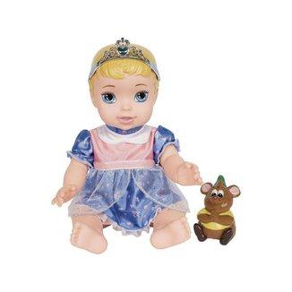 Boneca Baby Cinderela Disney Princesas 32cm