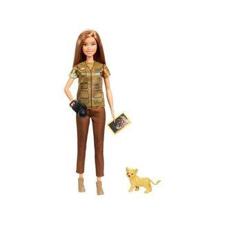 Boneca Barbie Nat Geo Fotógrafa da Vida Selvagem com Acessórios